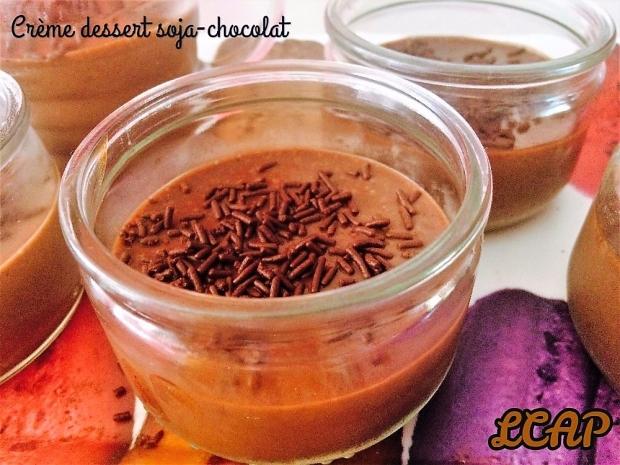crème dessert soja chocolat
