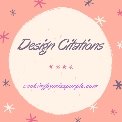 Design Citations