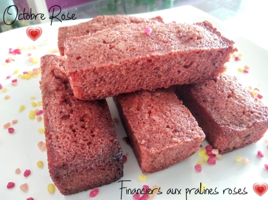 financiers aux pralines roses- cookingbymisspurple (1)